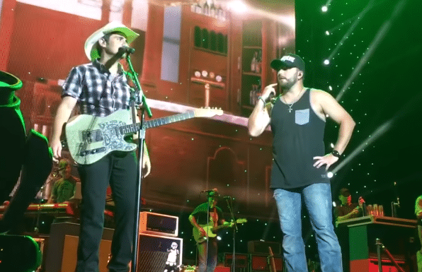 Brad Paisley asks for prayers for Tyler Farr after mid-concert mishap