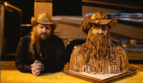 Chris Stapleton made of bacon is the yummiest thing you'll see today