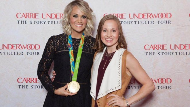 Carrie Underwood Gets a Gold Medal In Promise Keeping