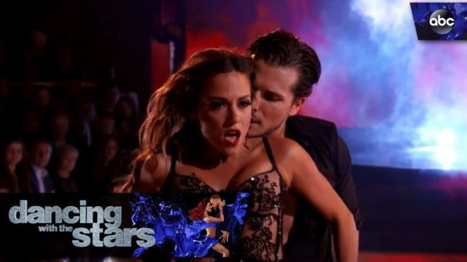 "Jana Kramer Steams Up the Dance Floor On ""Dancing With the Stars"""