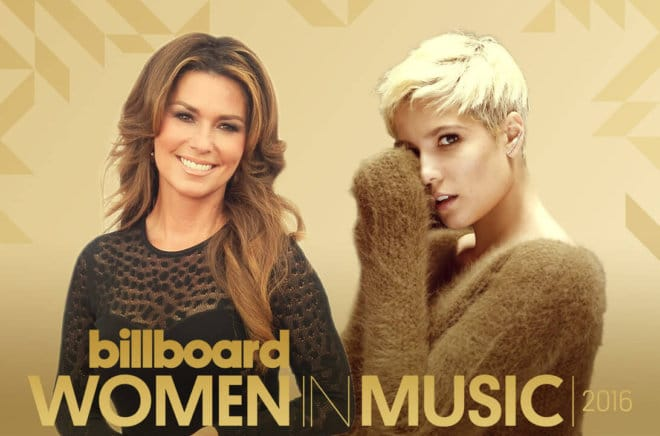 Shania Twain Becomes Billboard Icon