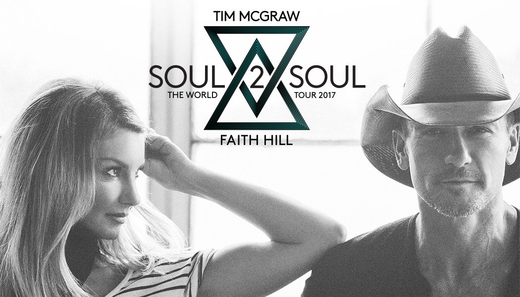 Tim McGraw & Faith Hill Announce Soul2Soul Tour Revolving Door of Openers