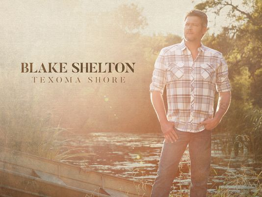 Someone drove their pickup into the front of Blake Shelton's Lake Texoma home