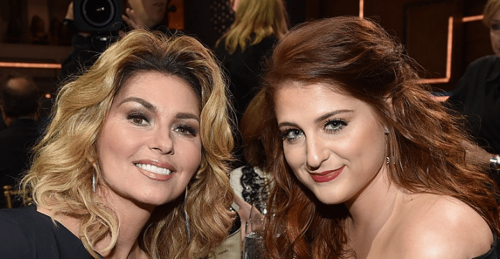 Shania Twain Faces Off Against Meghan Trainor In Rap Battle