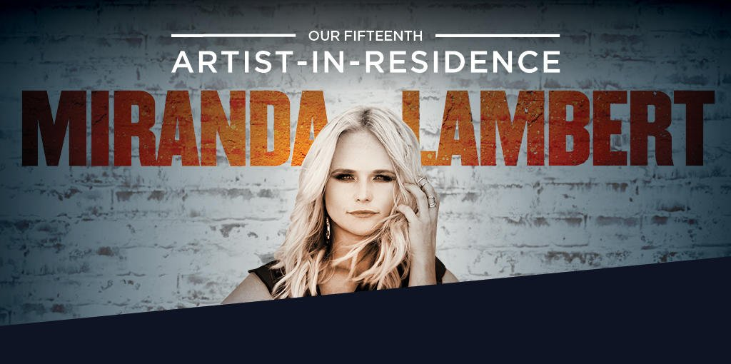 Miranda Lambert is the Country Music Hall of Fame's 15th Artist in Residence