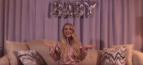 Carrie Underwood Announces New Tour… and New Baby!