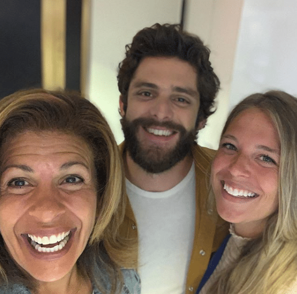 "Hoda Kotb challenges Thomas Rhett to ""Dance or Donate"""