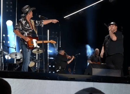 Luke Combs' first time meeting Tim McGraw was short and not so sweet