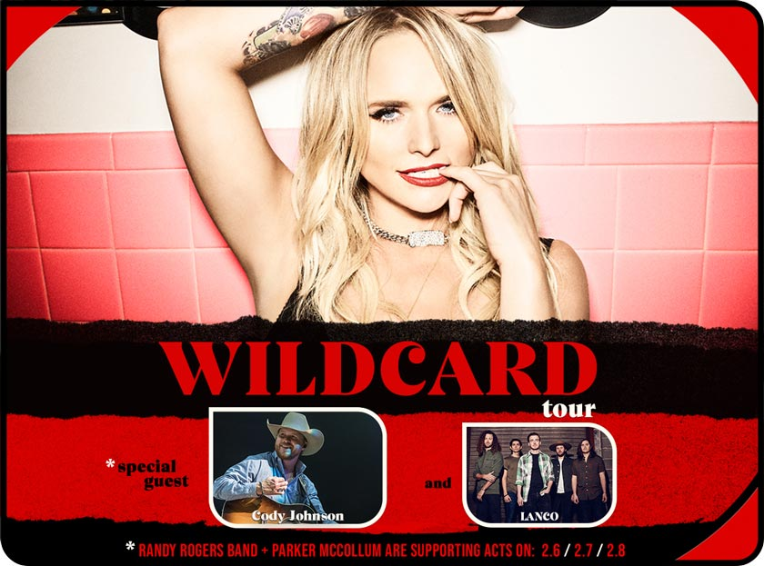 From The Mailbag: Miranda Lambert announces The Wildcard Tour