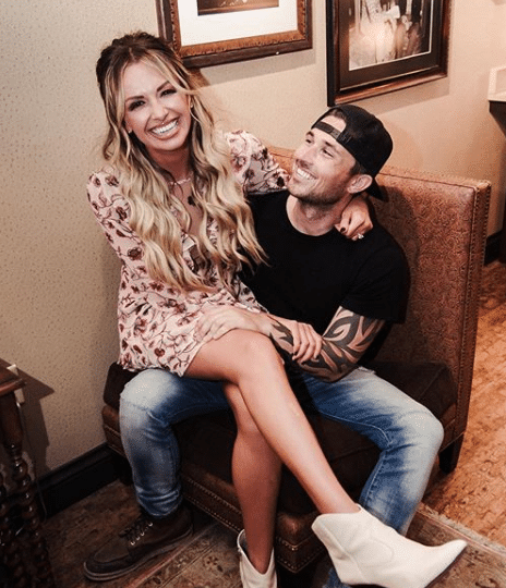 Carly Pearce and Michael Ray (photo courtesy michaelraymusic/Instagram)