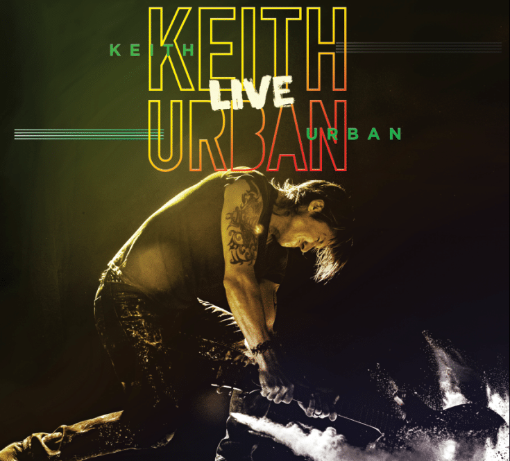 Keith Urban announces first UK tour in over 12 years