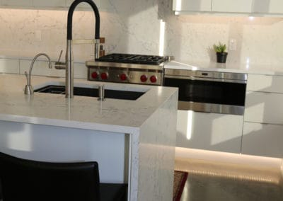 BALACK AND WHTIE KITCHEN 2 OF 2 EXOTIC STONE