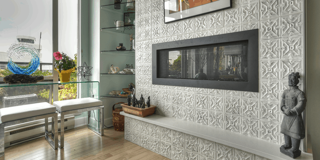 4 New Stone Countertop Ideas that aren't in your kitchen or bathroom!