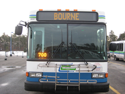 Ride the Bourne Run - Sagamore Park & Ride to Mashpee via Bourne
