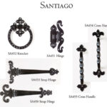 Doors handle design for Santiago