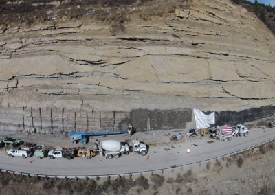 Paonia Rockfall Mitigation Project
