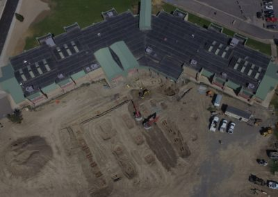 Arial of Delta Middle School