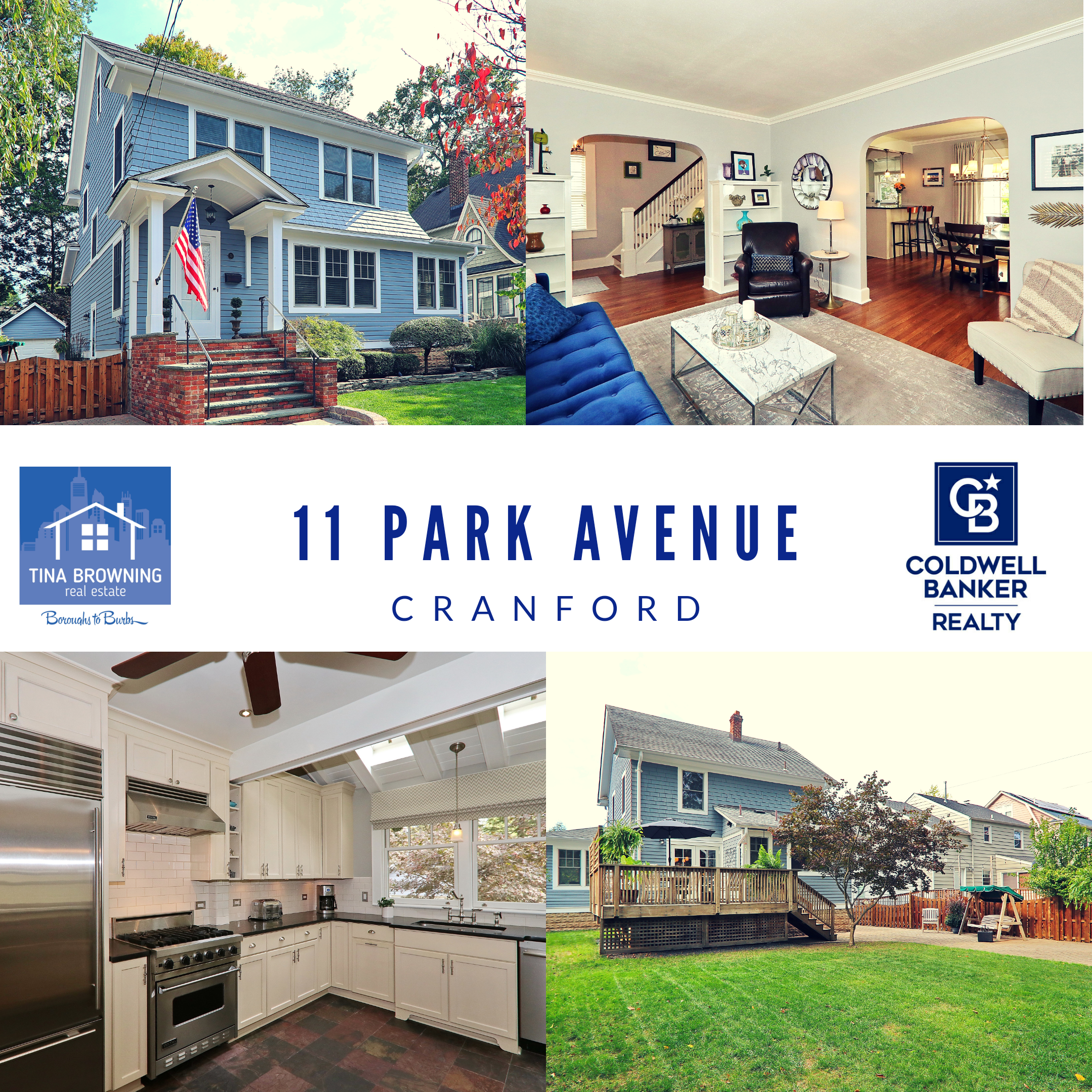 Welcome to 11 Park Avenue, Cranford!