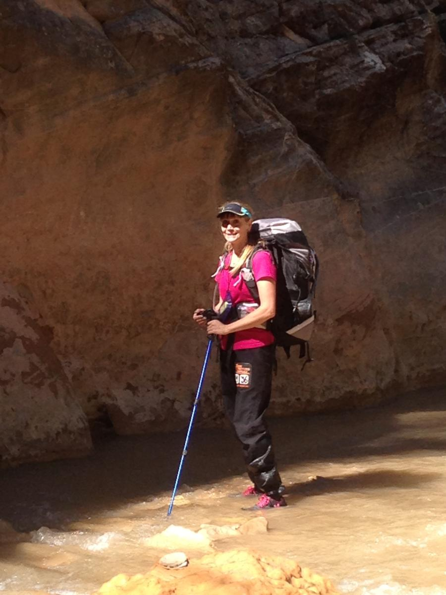Backpacking in the Zion Narrows