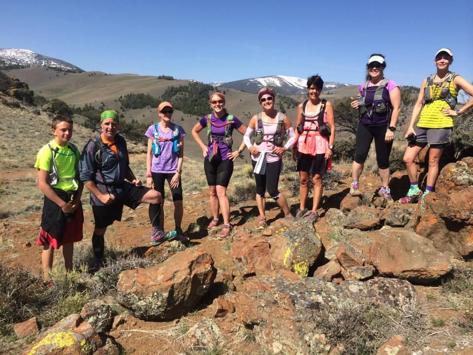 Training Run in Challis for RONR
