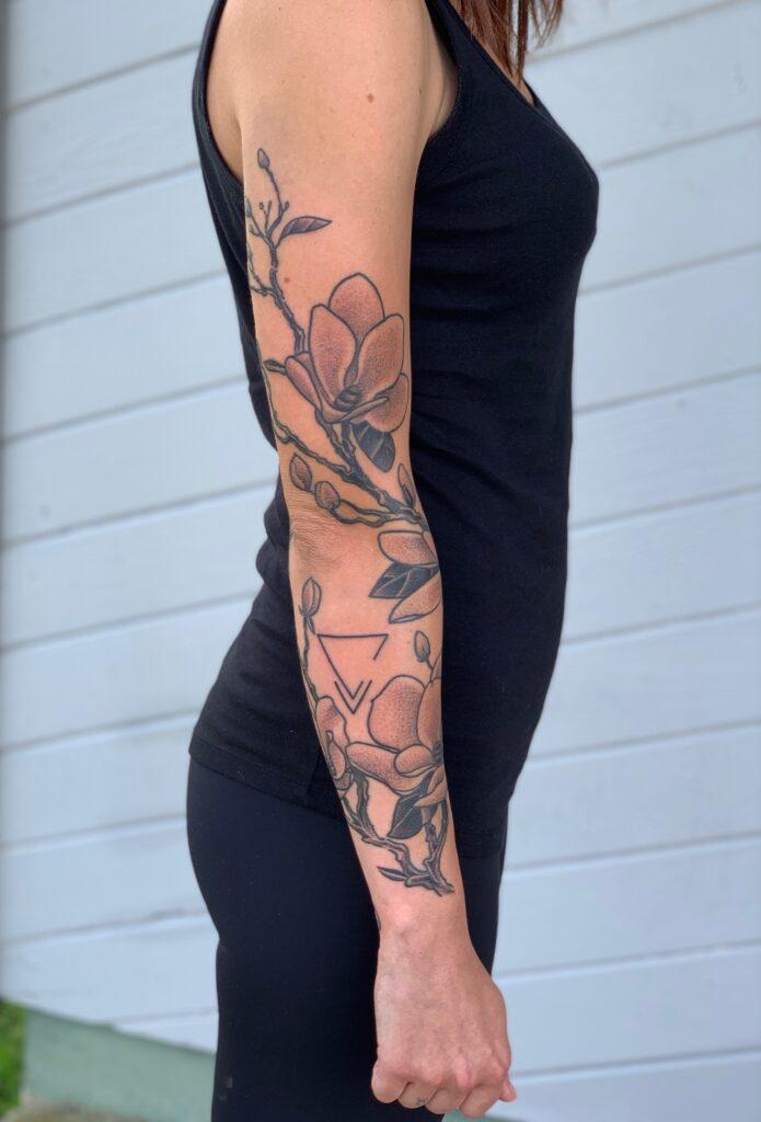 magnolia sleeve