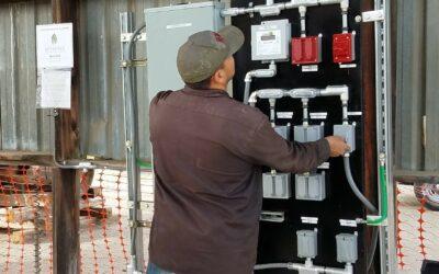 Biomass to electricity underway