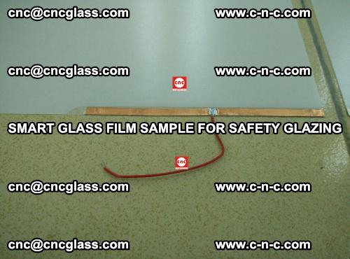 Smart glass film sample for safety glazing (16)