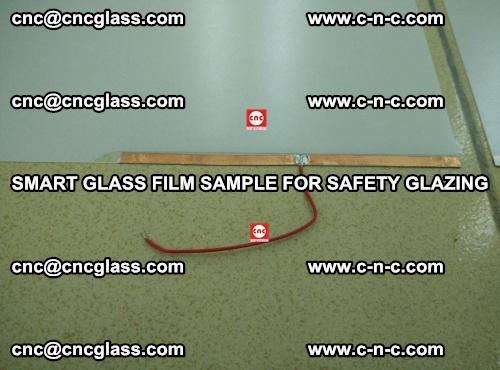 Smart glass film sample for safety glazing (17)