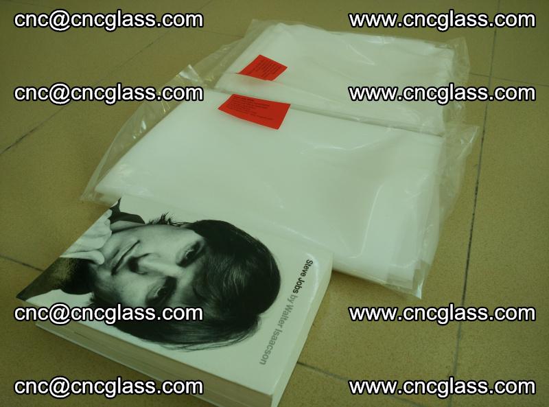 EVA glass laminating interlayer film, arctic snow white (1)