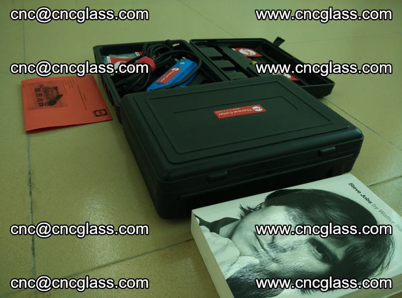 PVB laminated glass edges trimming thermal cutter (28)