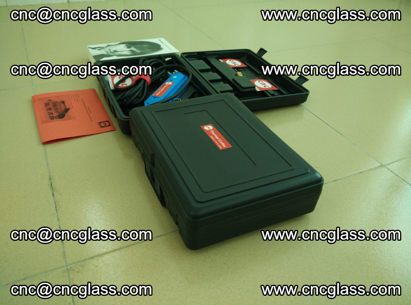 PVB laminated glass edges trimming thermal cutter (3)