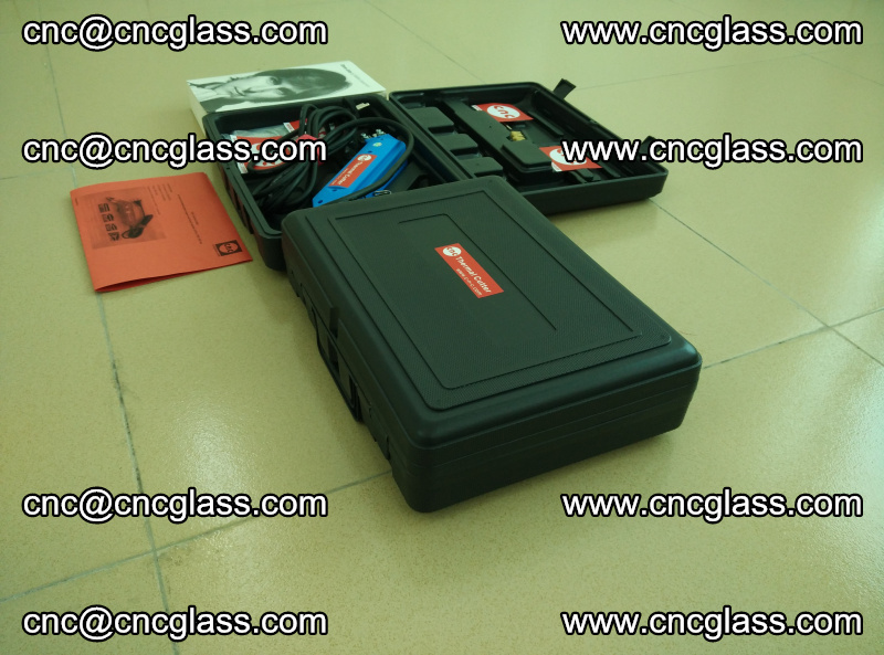 PVB laminated glass edges trimming thermal cutter (4)