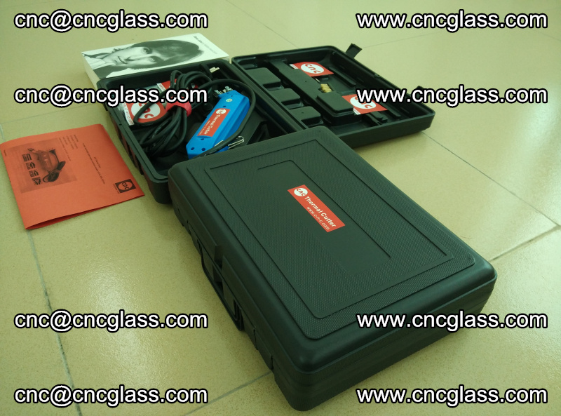 PVB laminated glass edges trimming thermal cutter (7)