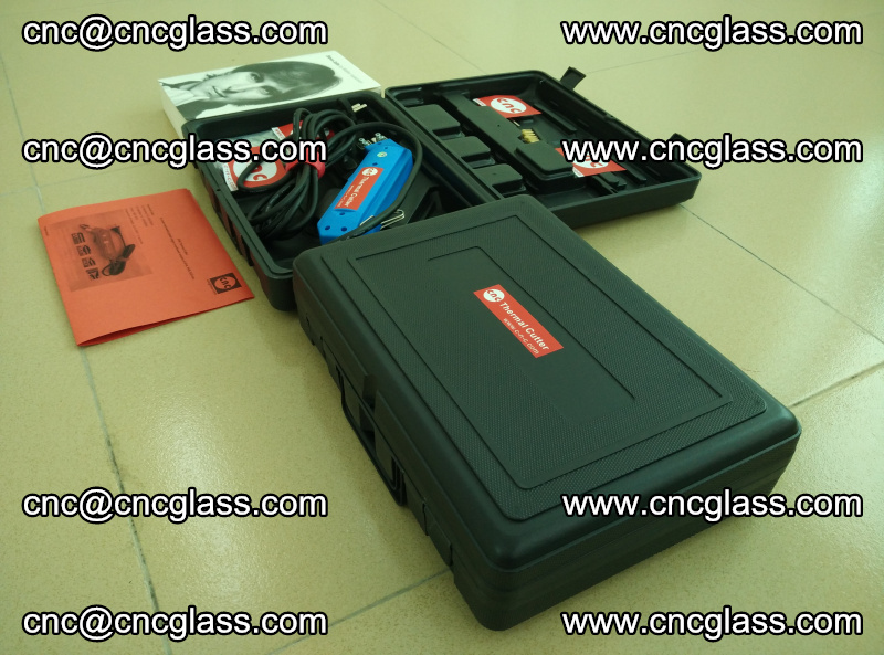 PVB laminated glass edges trimming thermal cutter (8)
