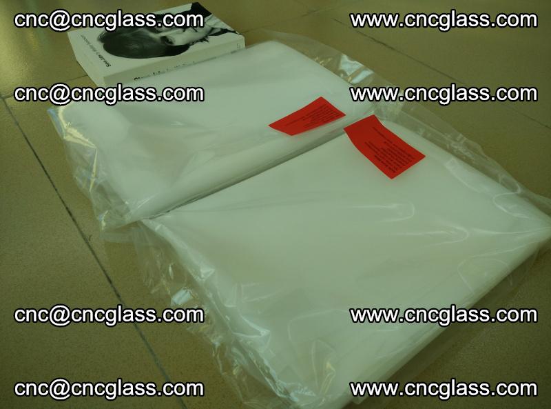 Safety glazing interlayer film, cool jade white eva film (1)