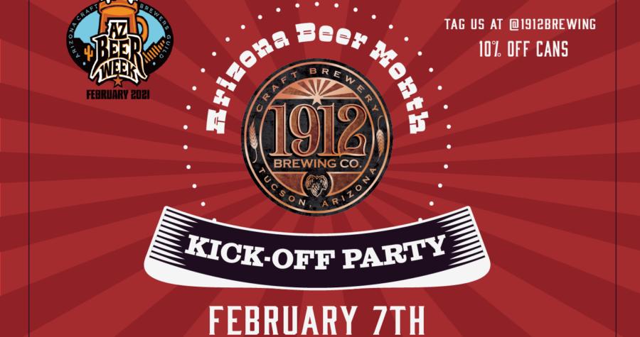 Arizona Beer Month Kick Off Party