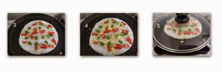 dosa, dosa recipe, pizza recipe, kids recipe