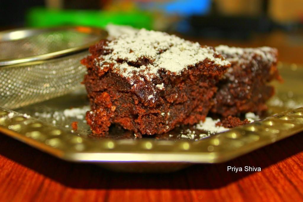 brownie, dessert, baking, eggless, snack, recipe