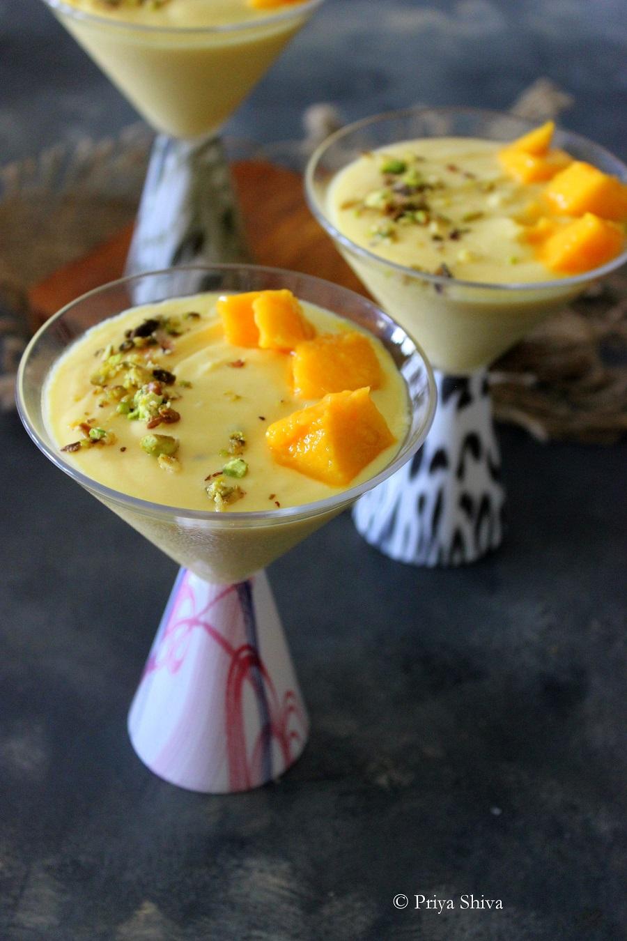 amrakhand - mango shrikhand