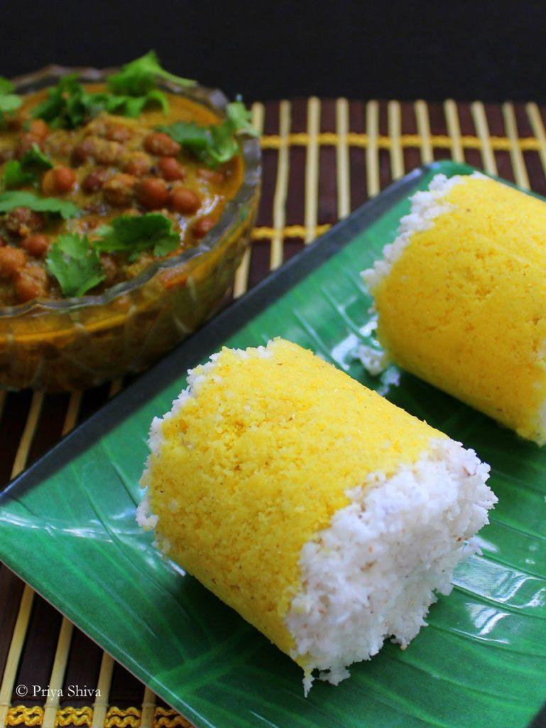 corn puttu kadala curry