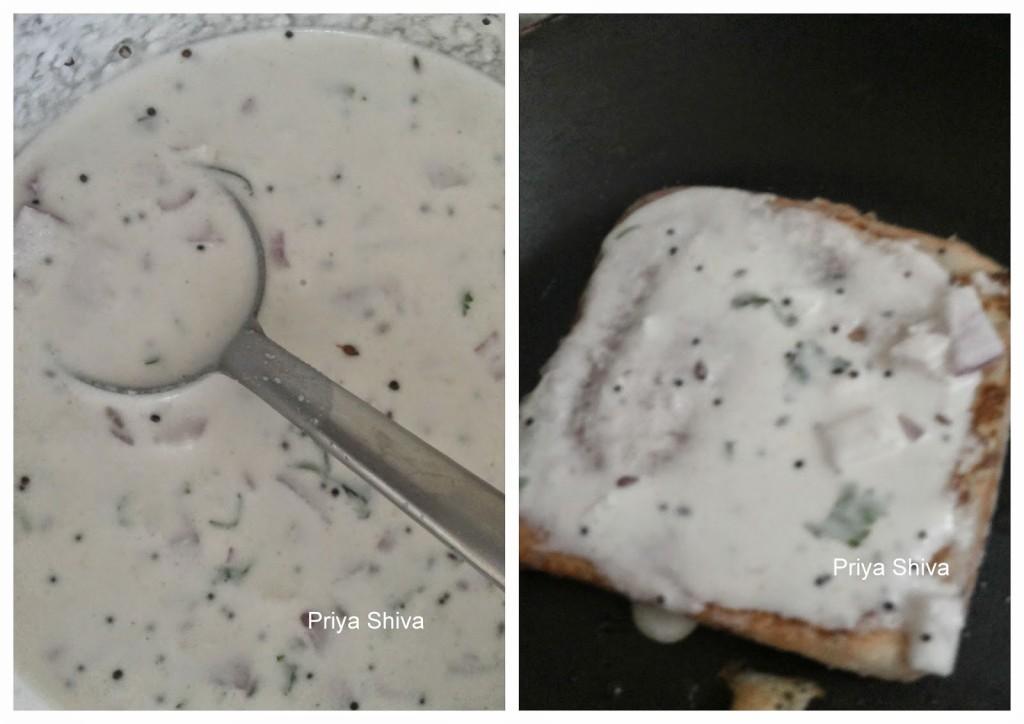 recipe, dosa, leftover, toast, bread