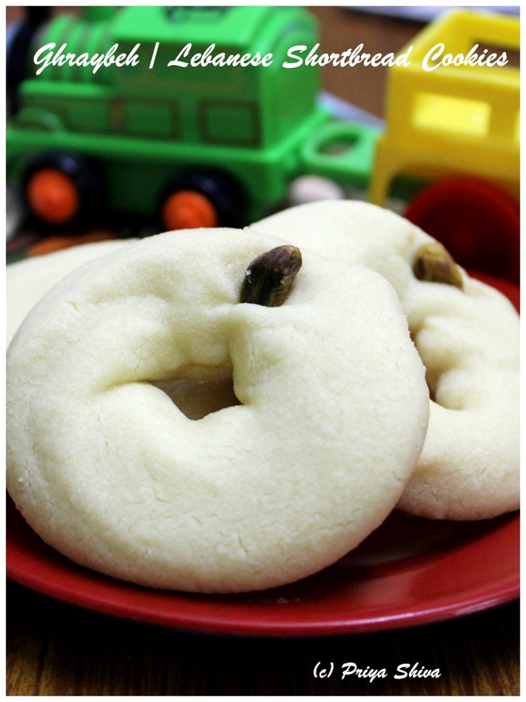 Ghraybeh - Lebanese Shortbread Cookies