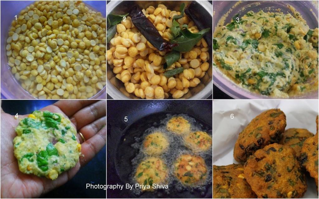 vadai recipe, vadai, falafel, masala vadai, spinach vada, vada