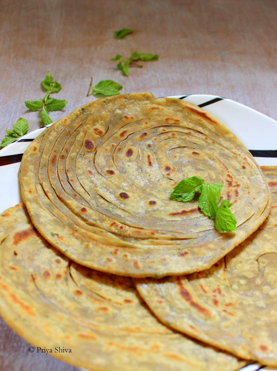 lachhedaar paratha recipe