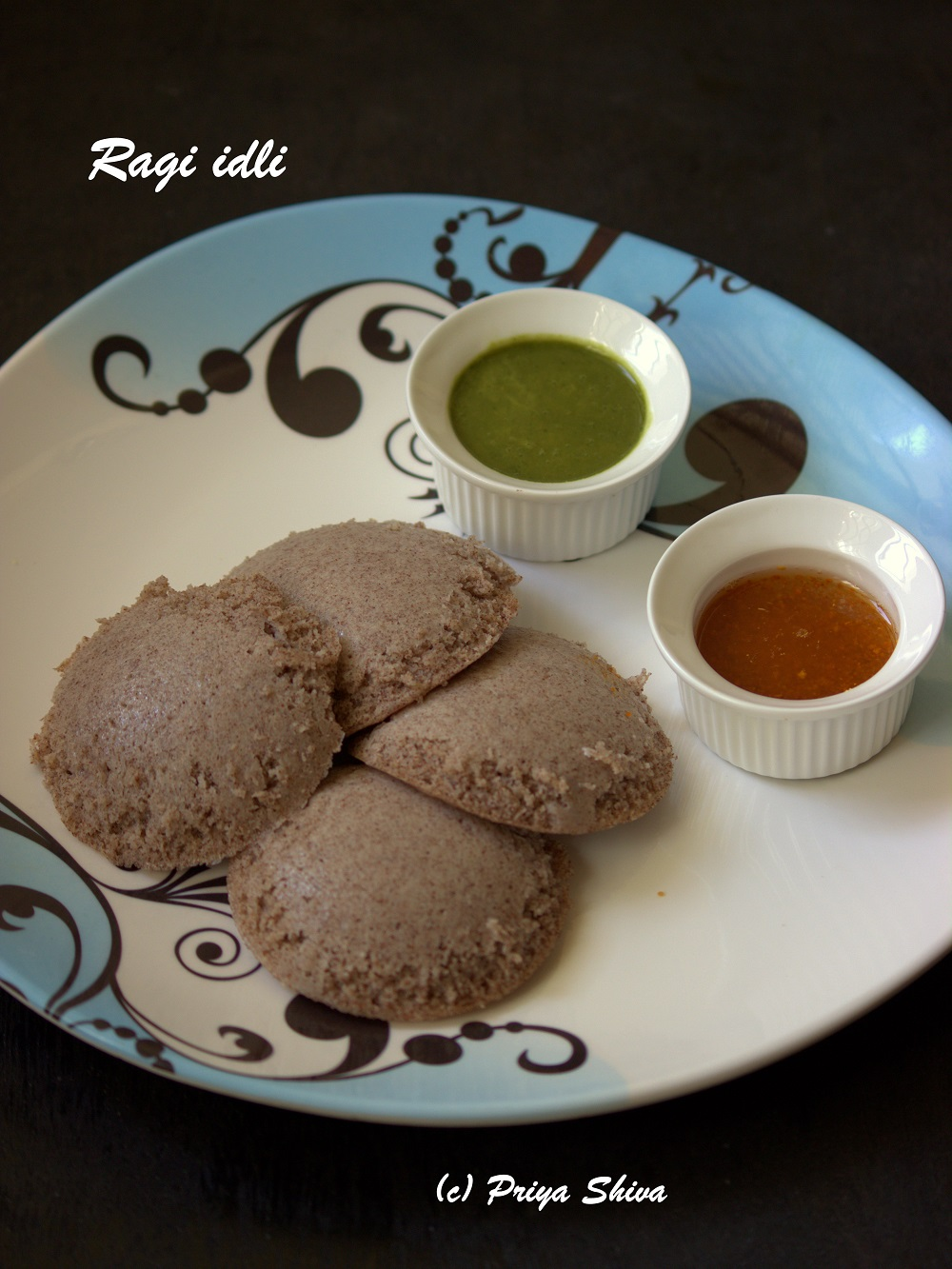 gluten free, oil free and made with finger millet flour