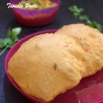 tomato poori recipe