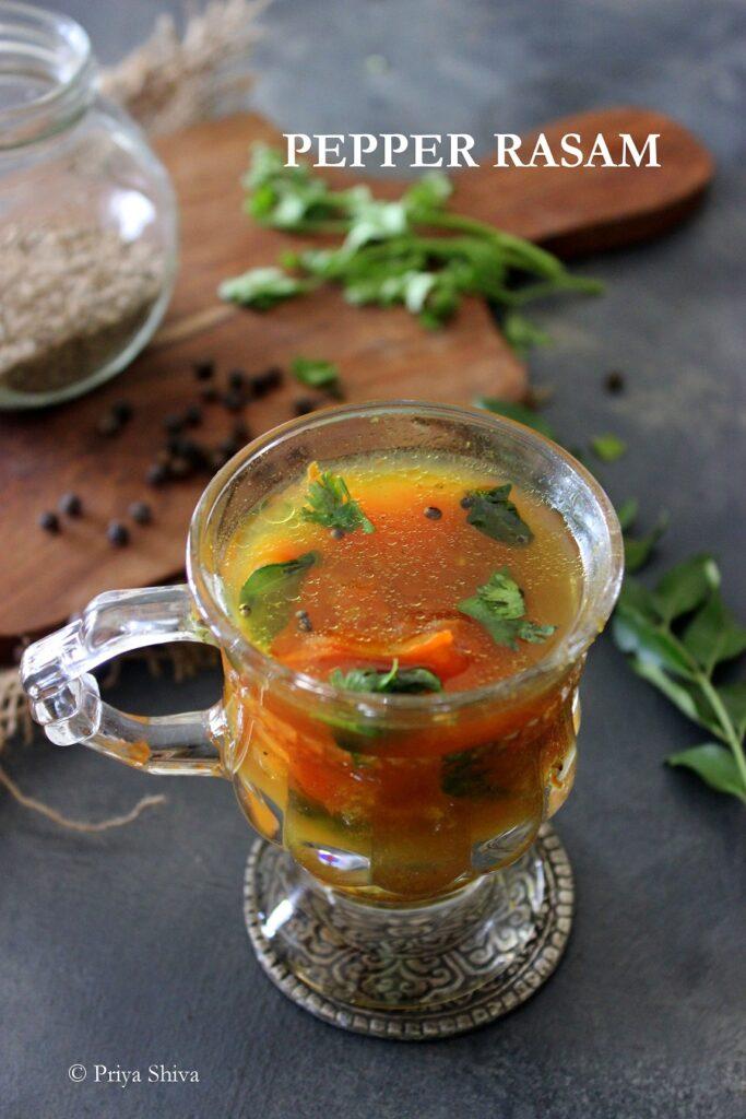 pepper rasam recipe