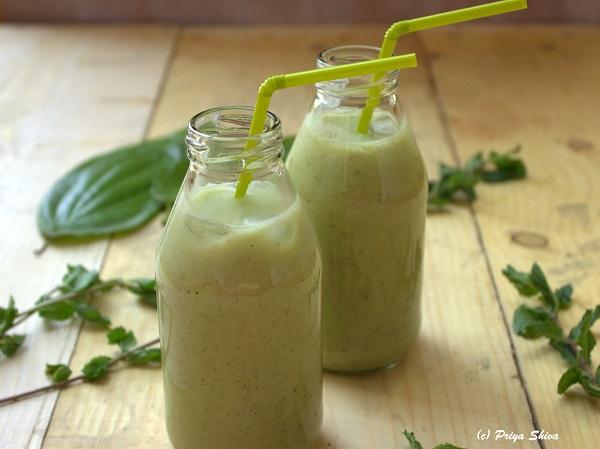 Betel Leaves Kiwi Green Smoothie recipe