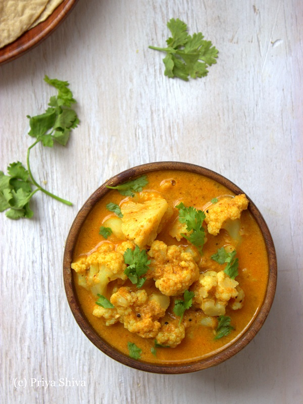 Kongunadu Cauliflower Kurma Recipe