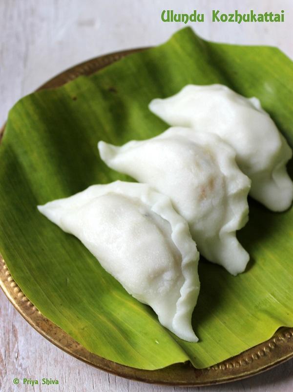 Ulundu Kozhukattai recipe